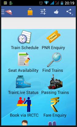 Indian rail app